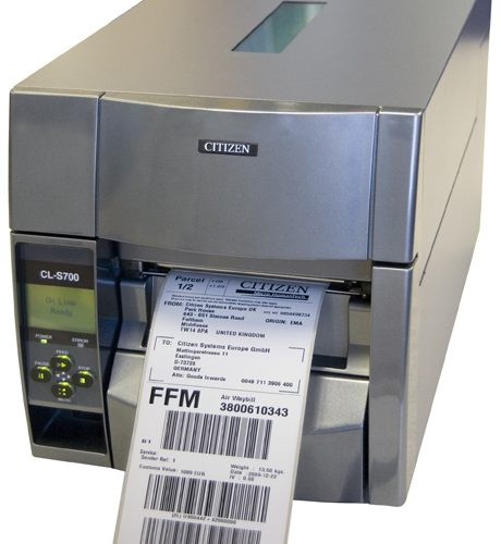 Citizen CLS700 Thermal Barcode Label Printer
